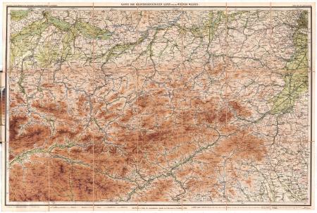 Blatt 3: *Karte der Oesterreichischen Alpen und des Wiener Waldes