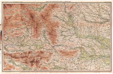 Blatt 6: *Karte der Steierischen Alpen und der Karawanken