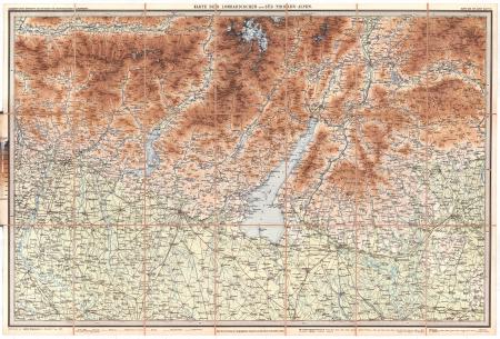 Blatt 7: *Karte der Lombardischen und Süd-Tirolen Alpen