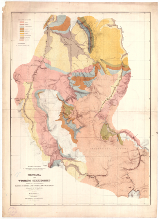 Montana and Wyoming Territories