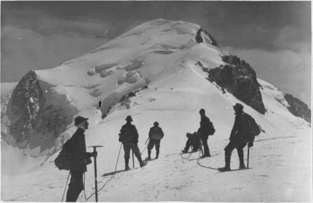 Salendo al Monte Bianco