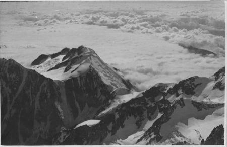 Colle Infranchissable e Dôme de Miage dal Monte Bianco