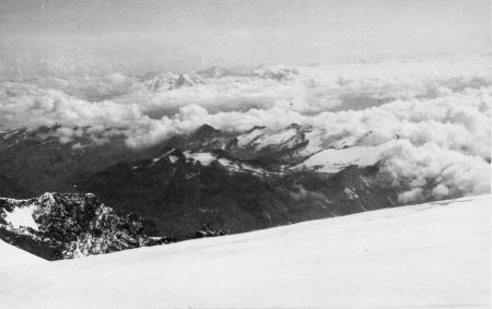 Dal Monte Bianco verso la Val Veni