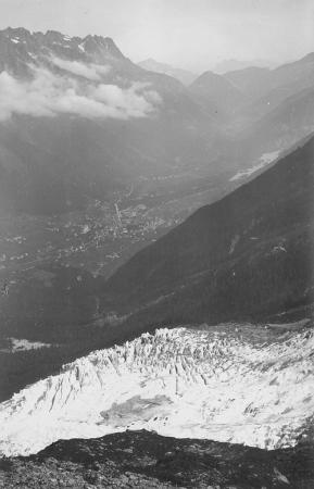 Chamonix Ghiacciaio di Bosson