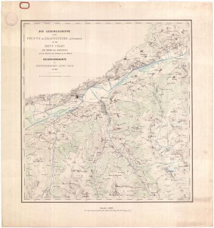 [Blatt 1: Sion, Val d'Hérémence, Val d'Hérens]