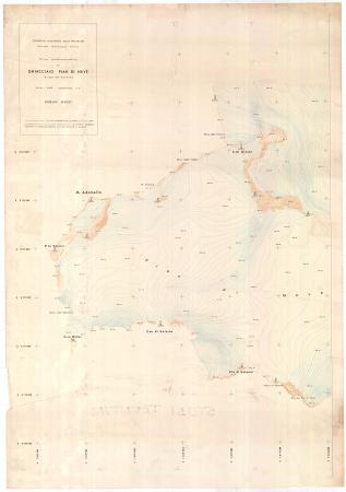 Rilievo aerofotogrammetrico del ghiacciaio Pian di Neve (Gruppo dell'Adamello)