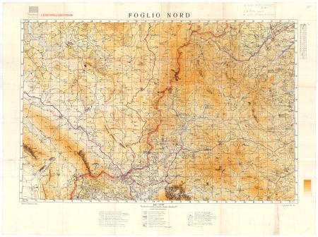 Foglio Nord : Leskoviku-Nestrami