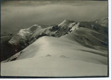 Specchi di sole sulla neve dell'Angiolino da M. Soglio