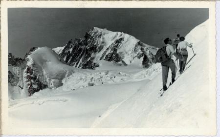 "Mont Blanc Tacul dal Ghiacc. ""la Vallée Blanche"""