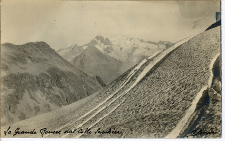 [Riprese varie di cime montuose: Alpi Graie e Alpi Cozie]