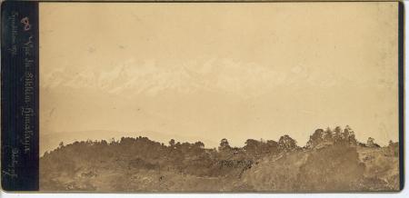 Vue du Sikkim - Himalaya