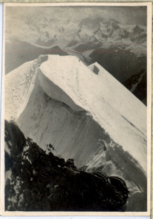 Schneegrat dal Rothorn