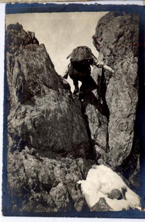[Località non identificata: alpinista]