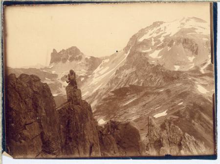[Paesaggio con cime montuose: Monte Thabor]
