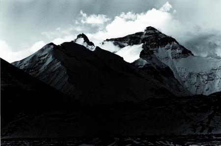 Everest (8848 m), Himalaya. Tibet, 1986
