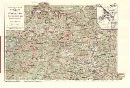 Blatt 5 : *Special-Touristen-Karte des Ötscher und Dürrenstein bis Maria-Zell, Gaming & Lunz