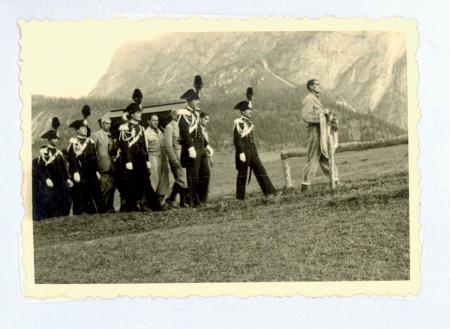 I funerali di Emilio Comici a Selva di Val Gardena, 23/10/1940