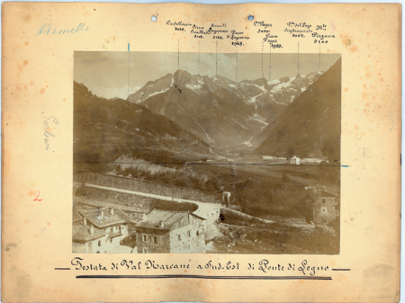 Testata di Val Marcanè a Sud-Est di Ponte di Legno