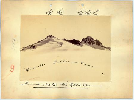 Panorama a Sud-Est della Lobbia Alta