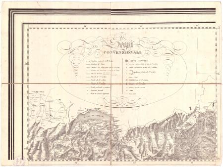 Gran Carta D'Italia / pubblicata da Giuseppe Civelli di Milano - [Foglio 1]