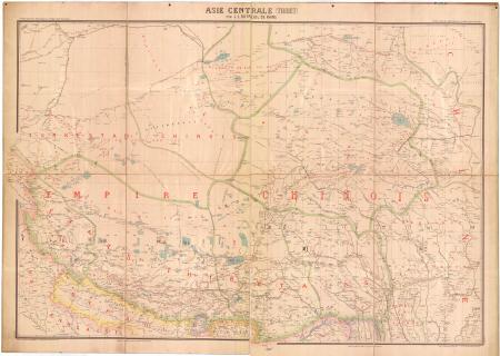 L'Asie centrale (Thibet). Feuille 2