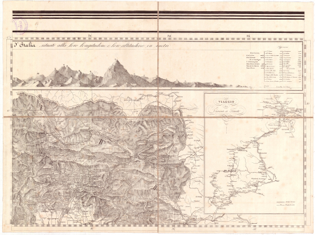 Gran Carta D'Italia / pubblicata da Giuseppe Civelli di Milano - [Foglio n. 3]