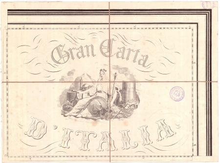 Gran Carta D'Italia / pubblicata da Giuseppe Civelli di Milano - [Foglio n. 4]