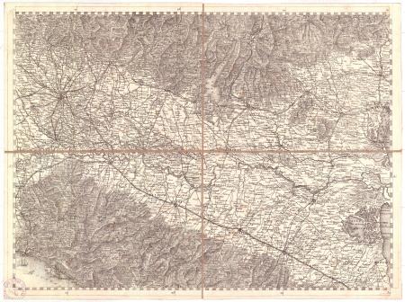 Gran Carta d'Italia / pubblicata da Giuseppe Civelli di Milano - [Foglio n. 6]