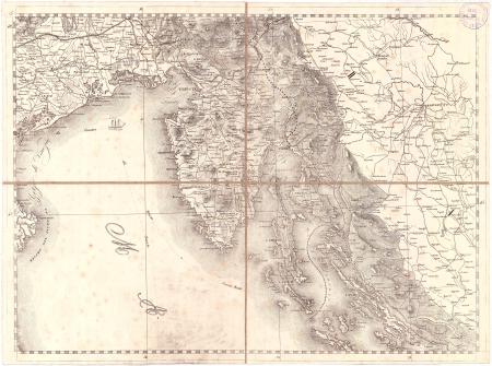 Gran Carta d'Italia / pubblicata da Giuseppe Civelli di Milano - [Foglio n. 7]