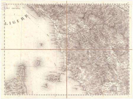Gran Carta d'Italia / pubblicata da Giuseppe Civelli di Milano - [Foglio n. 10]