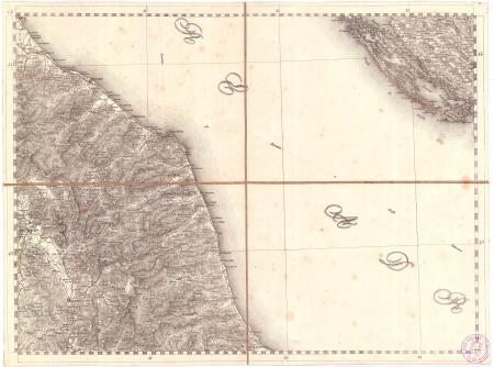 Gran Carta d'Italia / pubblicata da Giuseppe Civelli di Milano - [Foglio n. 11]