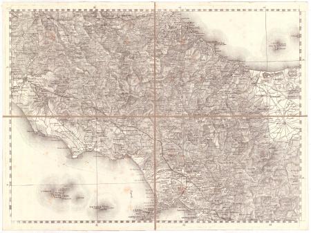 Gran Carta d'Italia / pubblicata da Giuseppe Civelli di Milano - [Foglio n. 15]