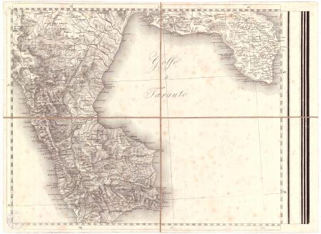 Gran Carta d'Italia / pubblicata da Giuseppe Civelli di Milano - [Foglio n. 20]