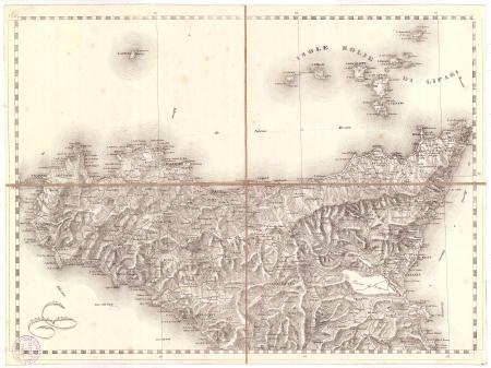 Gran Carta d'Italia / pubblicata da Giuseppe Civelli di Milano - [Foglio n. 23]