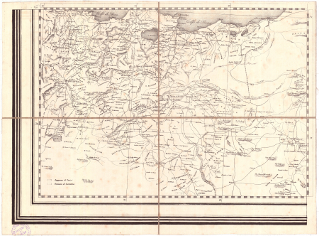 Gran Carta d'Italia / pubblicata da Giuseppe Civelli di Milano - [Foglio n. 25]