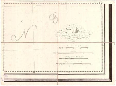 Gran Carta d'Italia / pubblicata da Giuseppe Civelli di Milano - [Foglio n. 28]