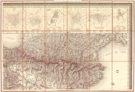 Hoja 2 : * Vizcaya, Navarra, Aragón, Cataluña