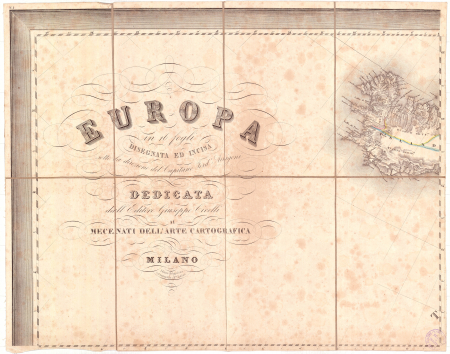 Europa : in 16 fogli. Foglio 1: [Islanda]