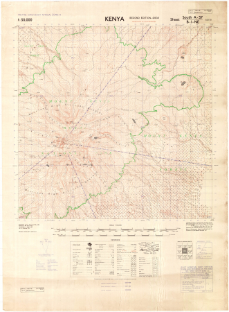 Kenya : sheet South A-37 B-I-NE (121/II)