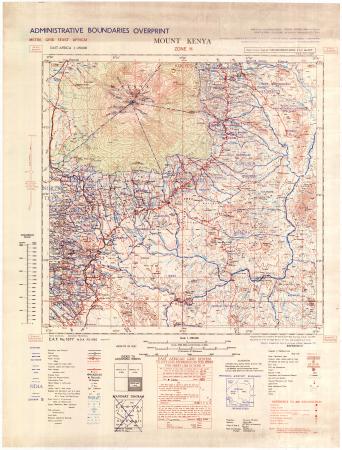 Mount Kenya : zone h