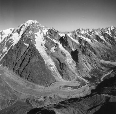 [Alpi, Monte Bianco e Ghiacciaio del Miage]