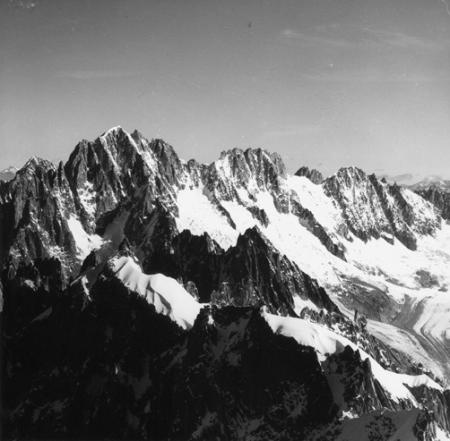 [Alpi, Gruppo del Monte Bianco: Aiguille Verte, Les Droites, Les Courtes]