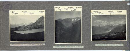 Lago Vercellina (m.2482) (Colle Crocetta) - Testata della Valle Grande di Lanzo - Dal Colle della Crocetta (m.2636)