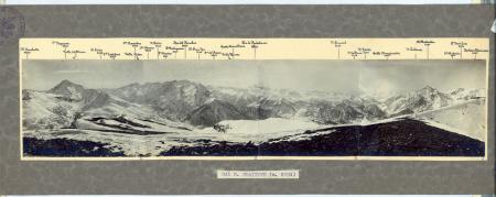 [Riprese varie di panorami delle Alpi Cozie e Graie]