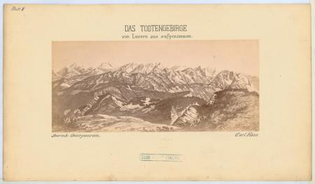 Der Dachstein - Das Todtengebirge