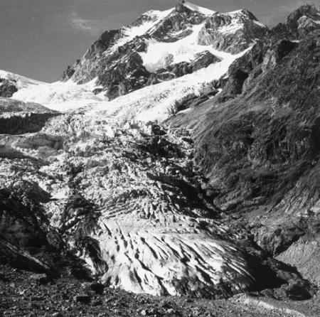 [Alpi, Gruppo del Monte Bianco, Aiguilles de Trélatête e Ghiacciaio della Lex Blanche]