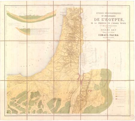 Feuille 1: *Palestine et Arabie Pétrée