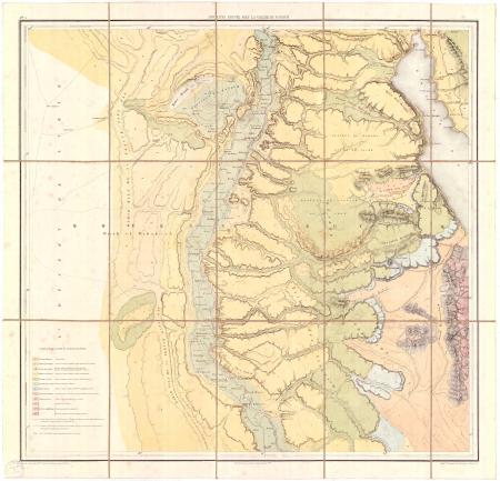Feuille 3: *Moyenne Egypte avec la vallée du Fayoum