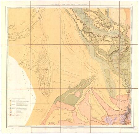 Feuille 5: *Haute Egypte et désert lybique formant la vallée des oasis
