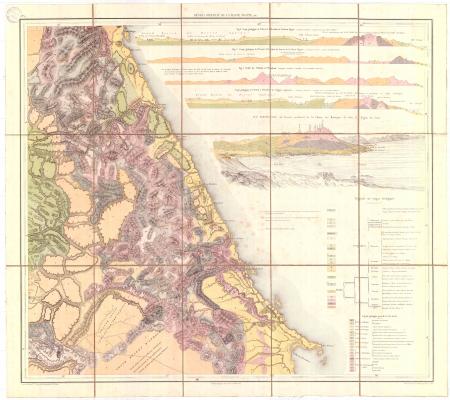 Feuille 6: *Désert oriental de la Haute Egypte, etc.